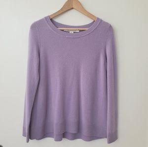 Diane Von Furstenberg 100% Cashmere Zandra Sweater